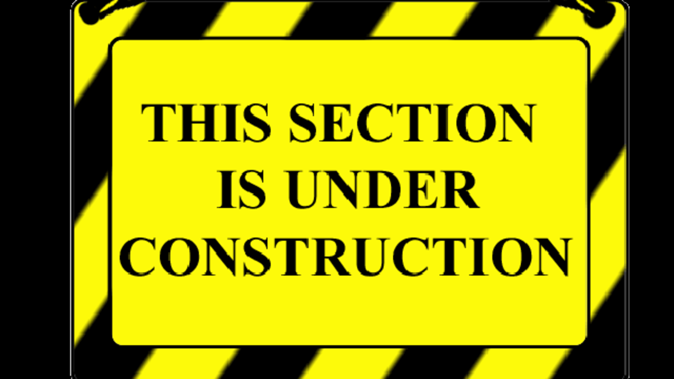 This section of our website is currently under struction.