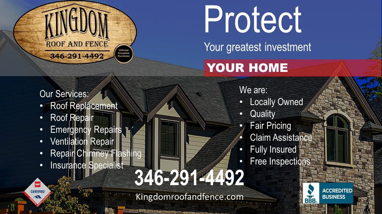 We are your local roofer and roofing contractor here in the Richmond, Katy and surrounding Houston Texas area.