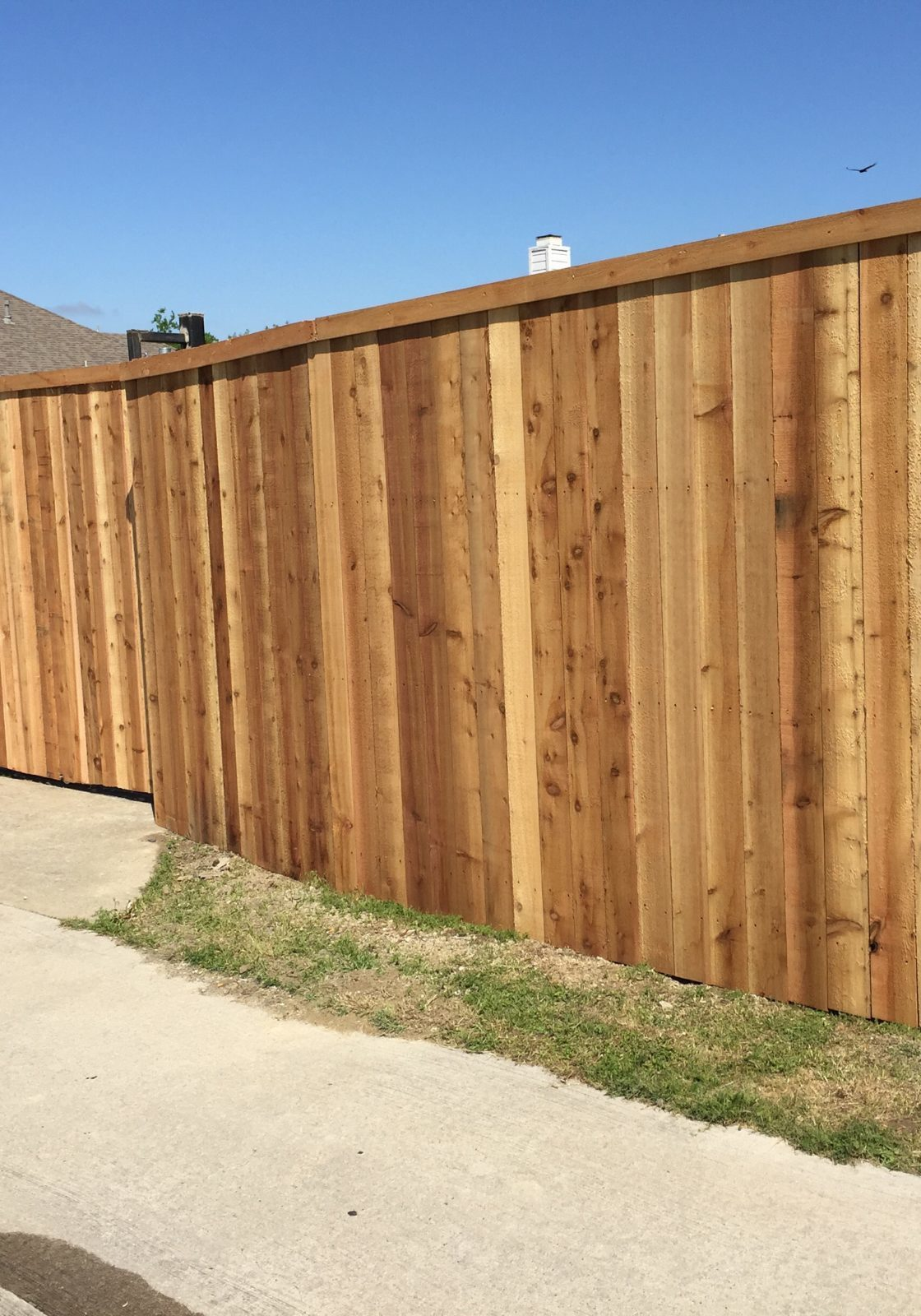 This is a picture of a power sliding gate that we installed at this house in the Houston Texas area.  It was an awesome project and we'll be looking forward to getting your done next.